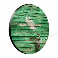 North Texas Mean Green Weathered Design Hook & Ring Game