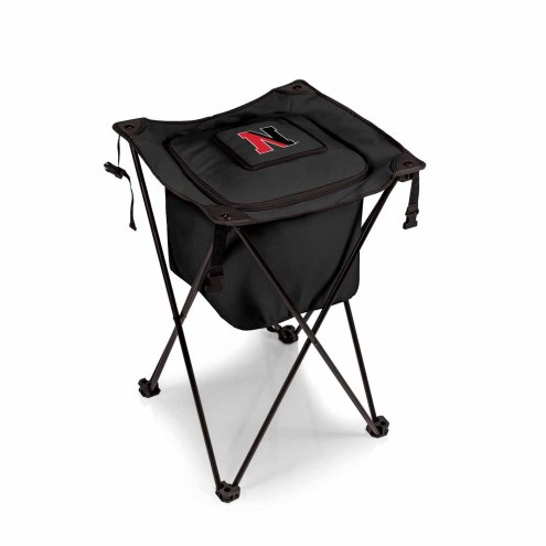 Northeastern Huskies Black Sidekick Portable Cooler