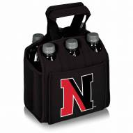 Northeastern Huskies Black Six Pack Cooler Tote