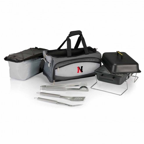 Northeastern Huskies Buccaneer Grill, Cooler and BBQ Set
