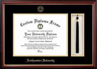 Northeastern Huskies Diploma Frame & Tassel Box