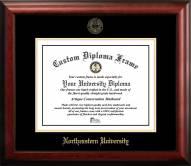 Northeastern Huskies Gold Embossed Diploma Frame