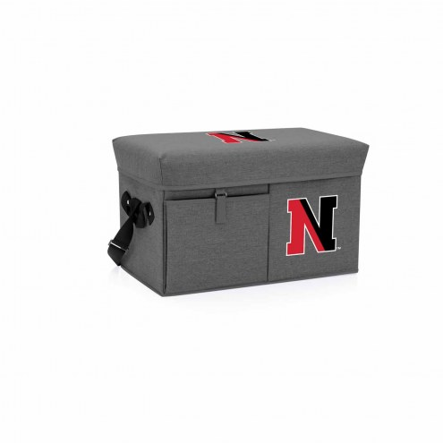 Northeastern Huskies Ottoman Cooler & Seat