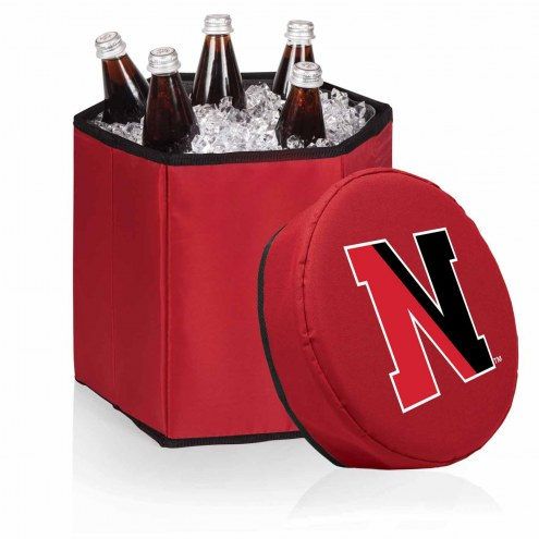 Northeastern Huskies Red Bongo Cooler