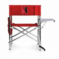 Northeastern Huskies Red Sports Folding Chair