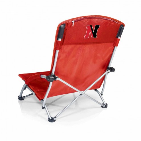 Northeastern Huskies Red Tranquility Beach Chair