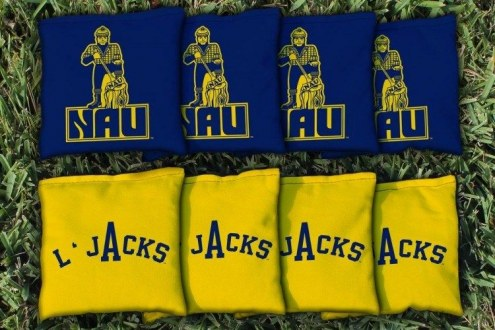 Northern Arizona Lumberjacks College Vault Cornhole Bag Set