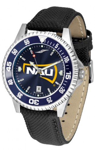 Northern Arizona Lumberjacks Competitor AnoChrome Men's Watch - Color Bezel