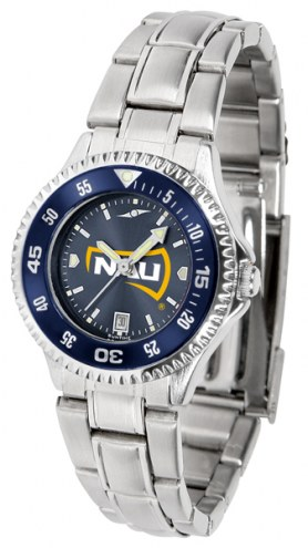 Northern Arizona Lumberjacks Competitor Steel AnoChrome Women's Watch - Color Bezel