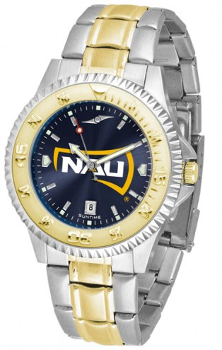 Northern Arizona Lumberjacks Competitor Two-Tone AnoChrome Men's Watch