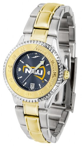Northern Arizona Lumberjacks Competitor Two-Tone AnoChrome Women's Watch