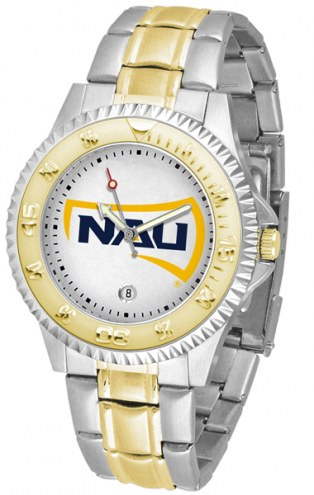 Northern Arizona Lumberjacks Competitor Two-Tone Men's Watch