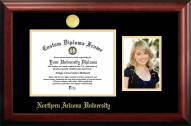 Northern Arizona Lumberjacks Gold Embossed Diploma Frame with Portrait
