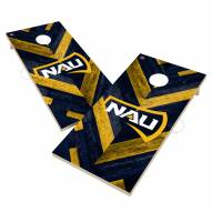 Northern Arizona Lumberjacks Herringbone Cornhole Game Set