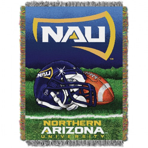 Northern Arizona Lumberjacks Home Field Advantage Throw Blanket