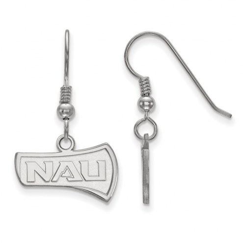 Northern Arizona Lumberjacks Sterling Silver Small Dangle Earrings