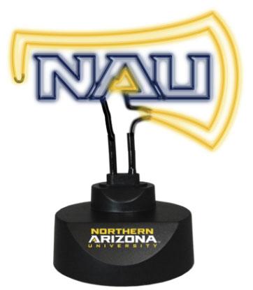 Northern Arizona Lumberjacks Team Logo Neon Lamp