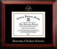 Northern Colorado Bears Gold Embossed Diploma Frame
