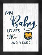 Northern Colorado Bears My Baby Loves Framed Print