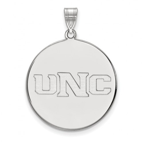 Northern Colorado Bears Sterling Silver Extra Large Disc Pendant