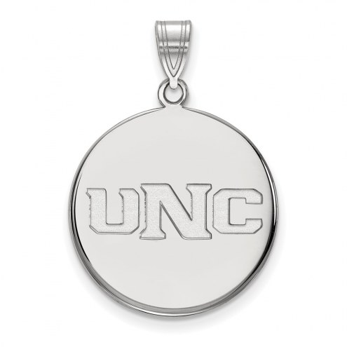 Northern Colorado Bears Sterling Silver Large Disc Pendant