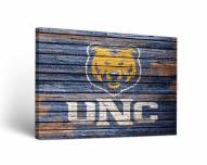 Northern Colorado Bears Weathered Canvas Wall Art
