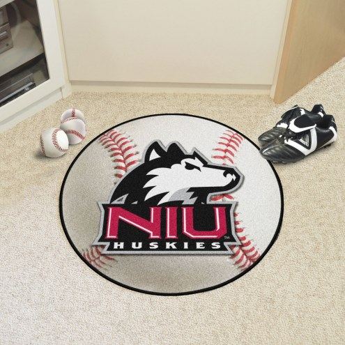 Northern Illinois Huskies Baseball Rug