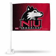 Northern Illinois Huskies Car Flag