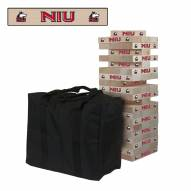 Northern Illinois Huskies Giant Wooden Tumble Tower Game