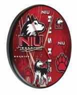 Northern Illinois Huskies Digitally Printed Wood Clock