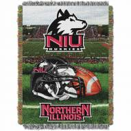 Northern Illinois Huskies Home Field Advantage Throw Blanket