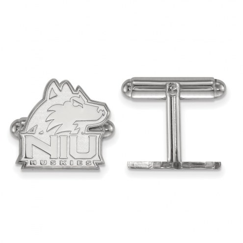 Northern Illinois Huskies Sterling Silver Cuff Links