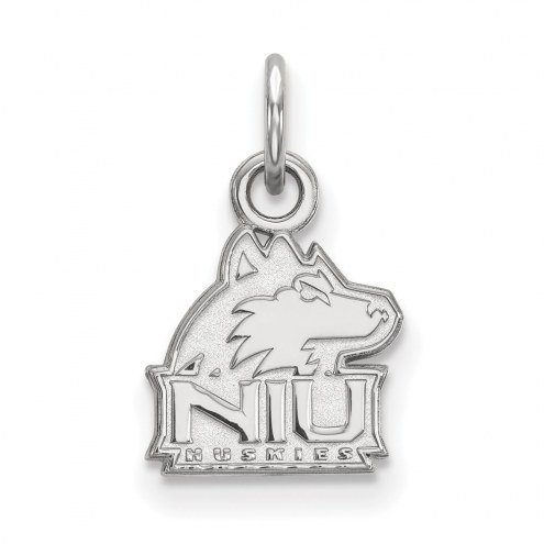 Northern Illinois Huskies Sterling Silver Extra Small Pendant