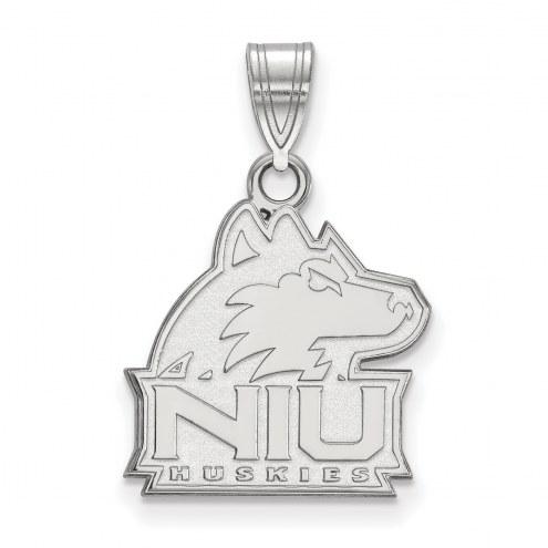 Northern Illinois Huskies Sterling Silver Medium Pendant