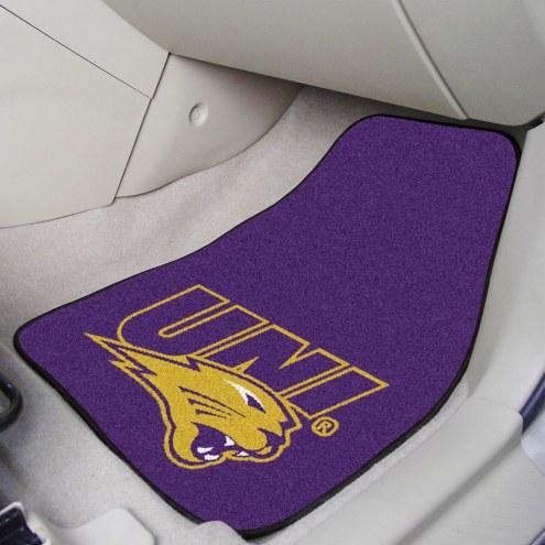 Northern Iowa Panthers 2-Piece Carpet Car Mats