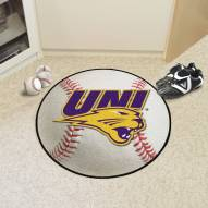 Northern Iowa Panthers Baseball Rug