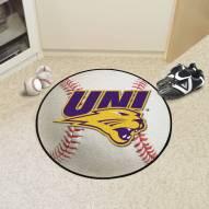 Northern Iowa Panthers Baseball Rug