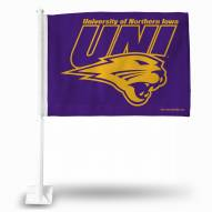 Northern Iowa Panthers Car Flag