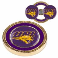 Northern Iowa Panthers Challenge Coin with 2 Ball Markers