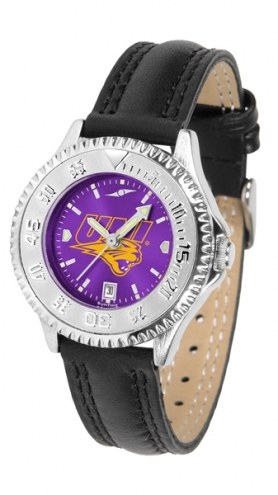 Northern Iowa Panthers Competitor AnoChrome Women's Watch