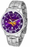 Northern Iowa Panthers Competitor Steel AnoChrome Color Bezel Men's Watch