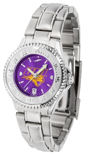 Northern Iowa Panthers Competitor Steel AnoChrome Women's Watch