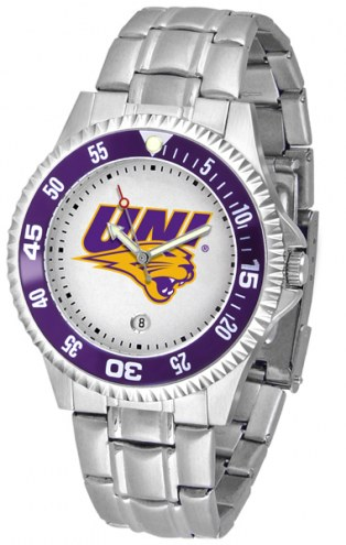 Northern Iowa Panthers Competitor Steel Men's Watch