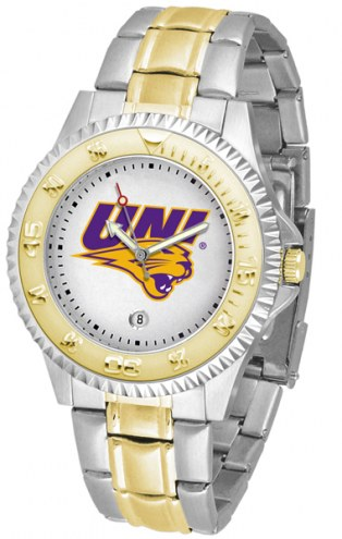 Northern Iowa Panthers Competitor Two-Tone Men's Watch