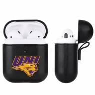 Northern Iowa Panthers Fan Brander Apple Air Pods Leather Case