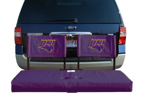 Northern Iowa Panthers Tailgate Hitch Seat/Cargo Carrier