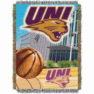 Northern Iowa Panthers Home Field Advantage Throw Blanket