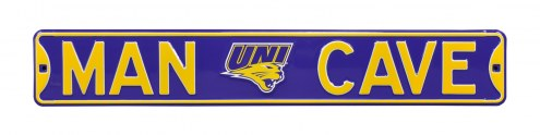 Northern Iowa Panthers Man Cave Street Sign