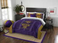 Northern Iowa Panthers Modern Take Full/Queen Comforter Set