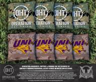 Northern Iowa Panthers Operation Hat Trick Cornhole Bag Set